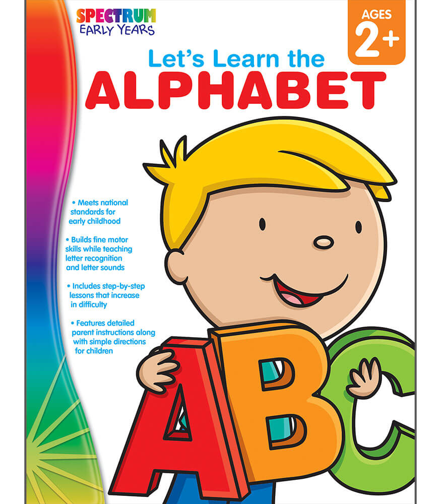 Let's Learn the Alphabet Workbook