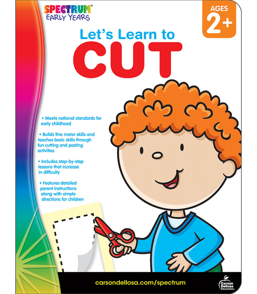 Let's Learn to Cut Workbook Product Image