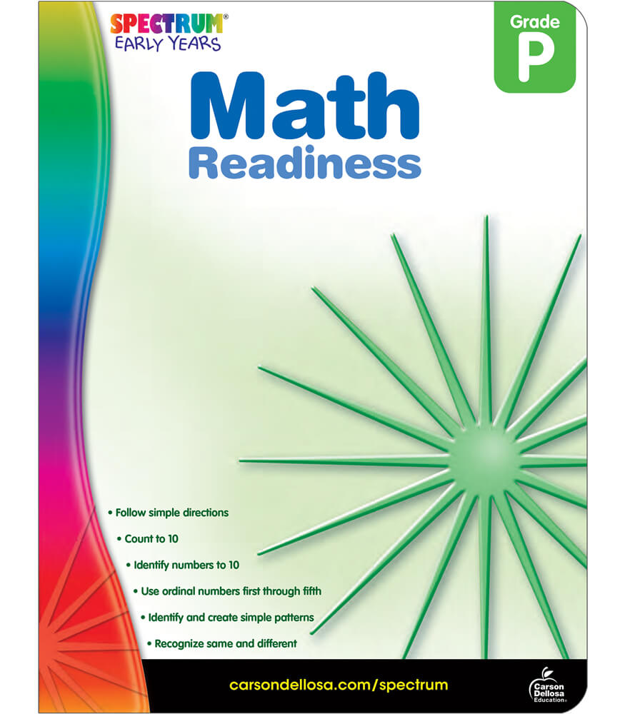 Math Readiness Workbook Product Image