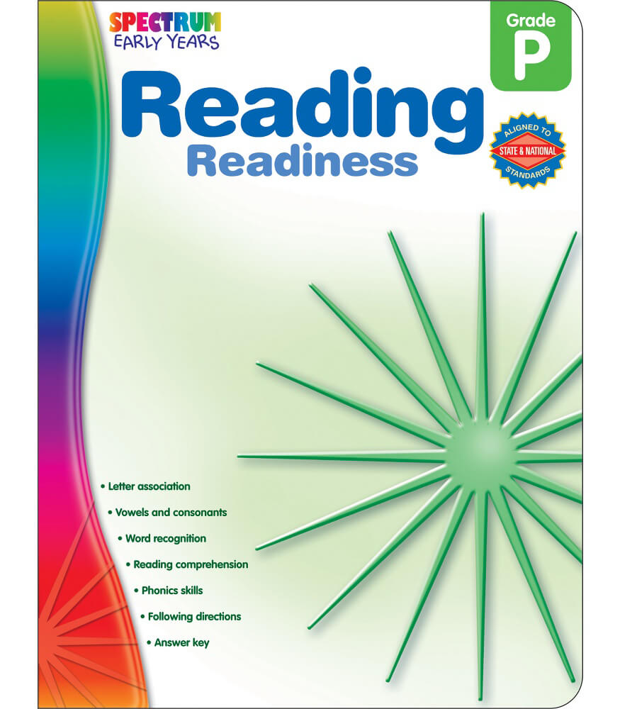 Reading Readiness Workbook Product Image
