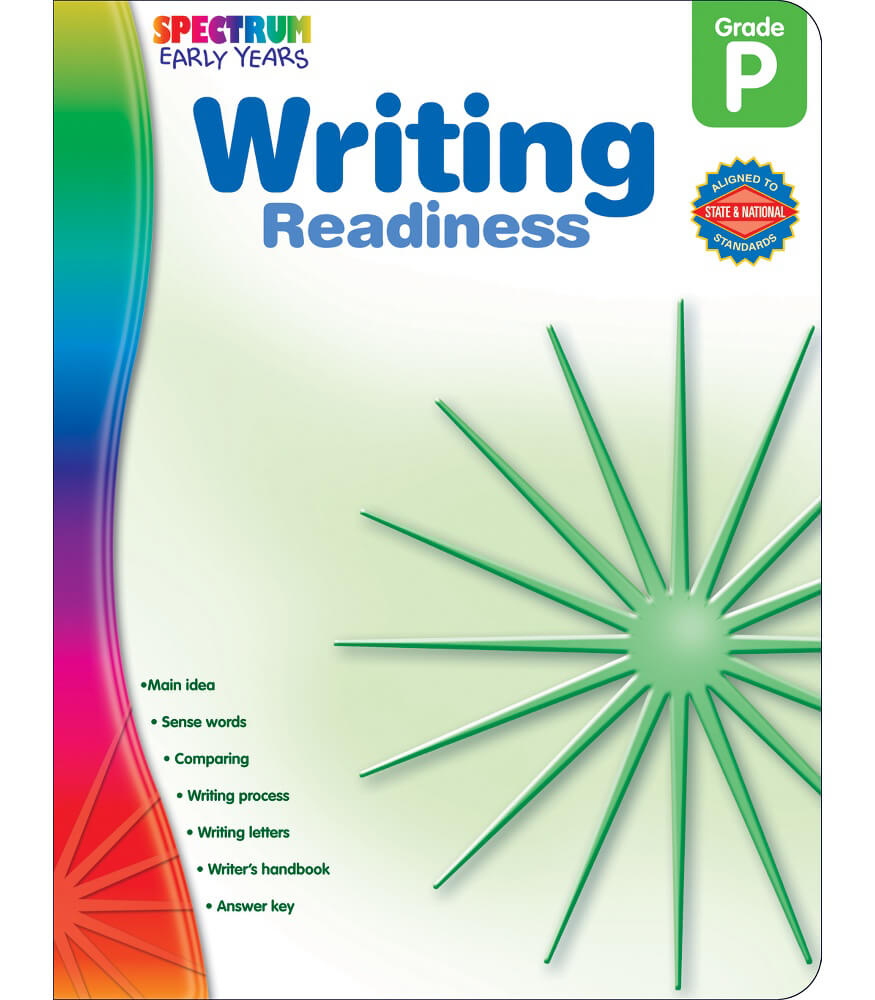 Writing Readiness Workbook Product Image