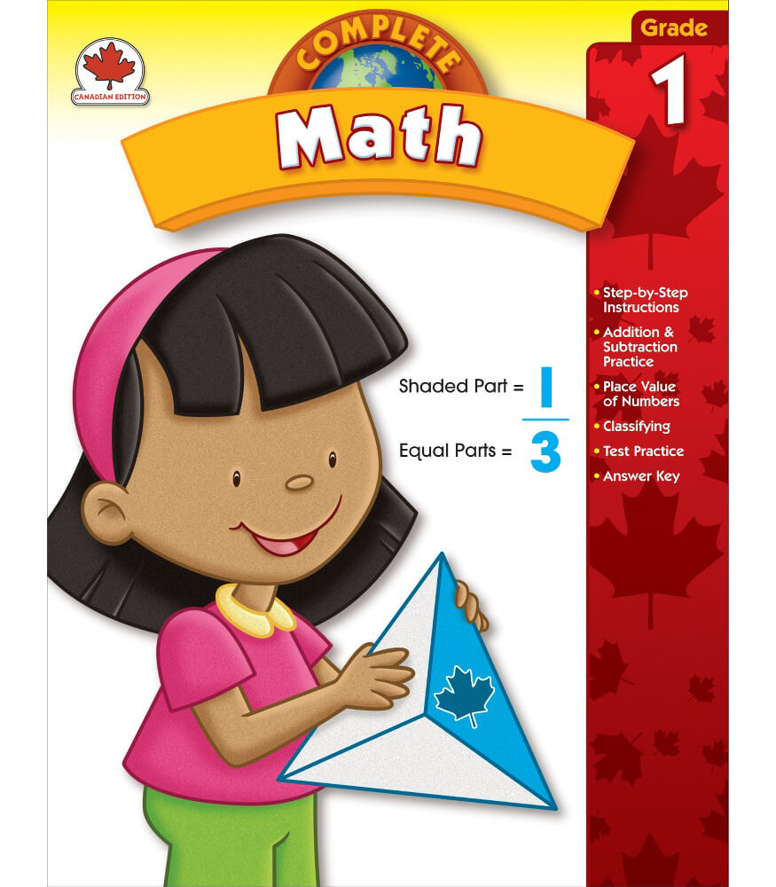 Complete Math Workbook Product Image