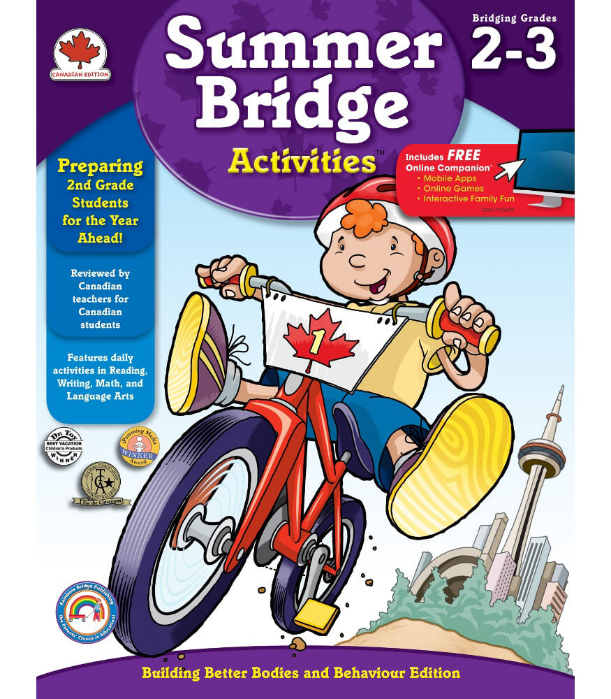 Summer Bridge Activities® (Canadian Edition) Workbook Grade 2-3 ...