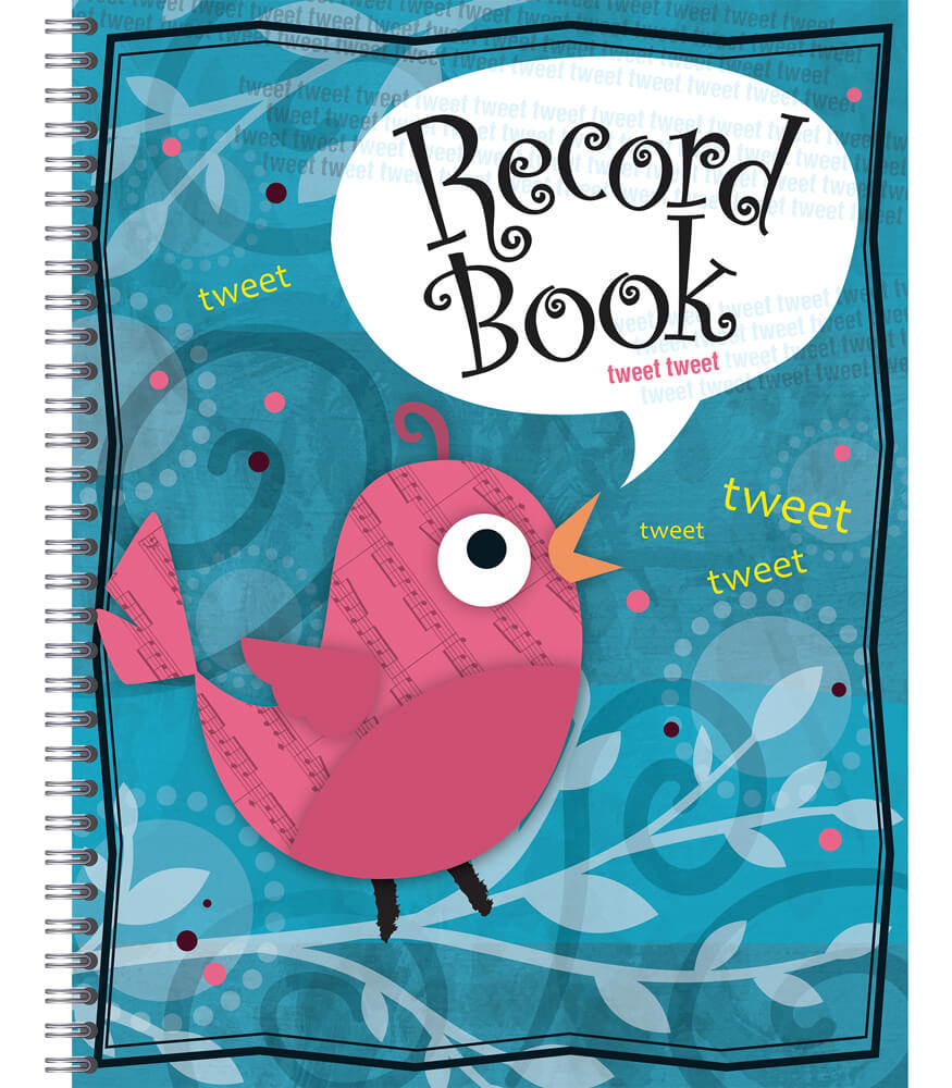 Song Bird Record Book Product Image