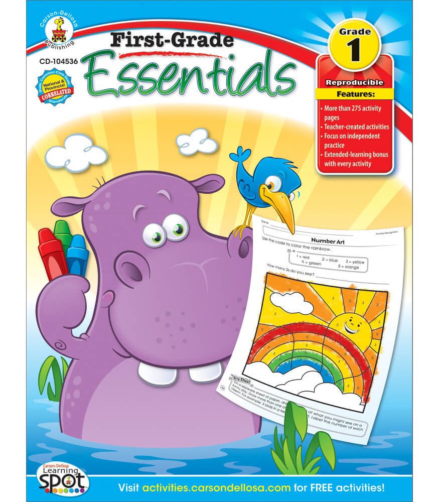 First-Grade Essentials Resource Book Product Image