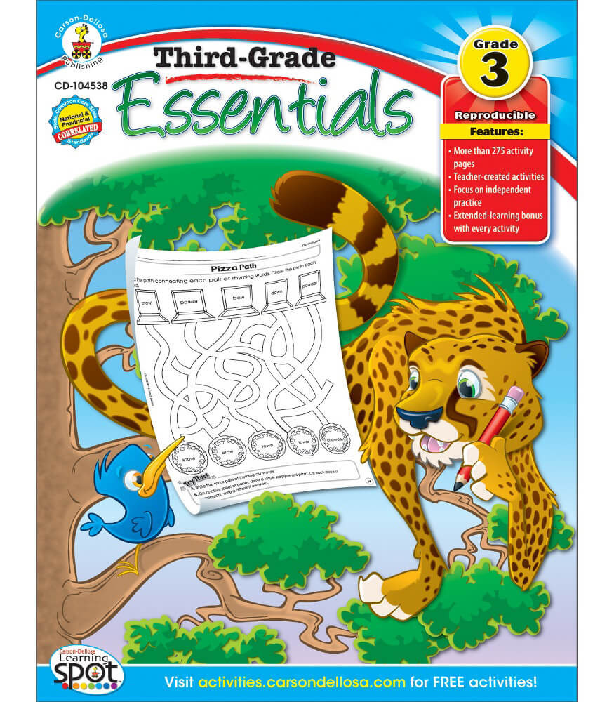 Third-Grade Essentials Resource Book Product Image