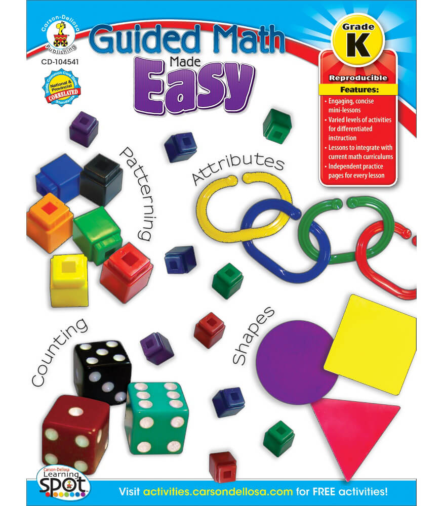 Guided Math Made Easy Resource Book