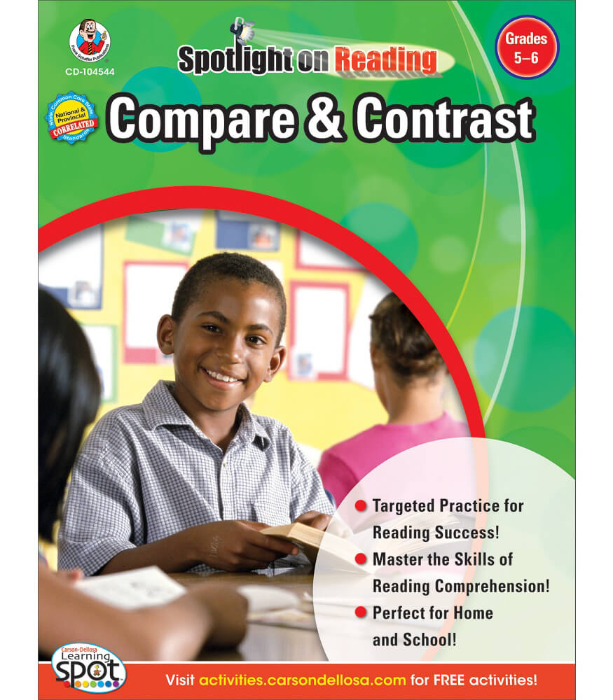 Compare & Contrast Resource Book Product Image