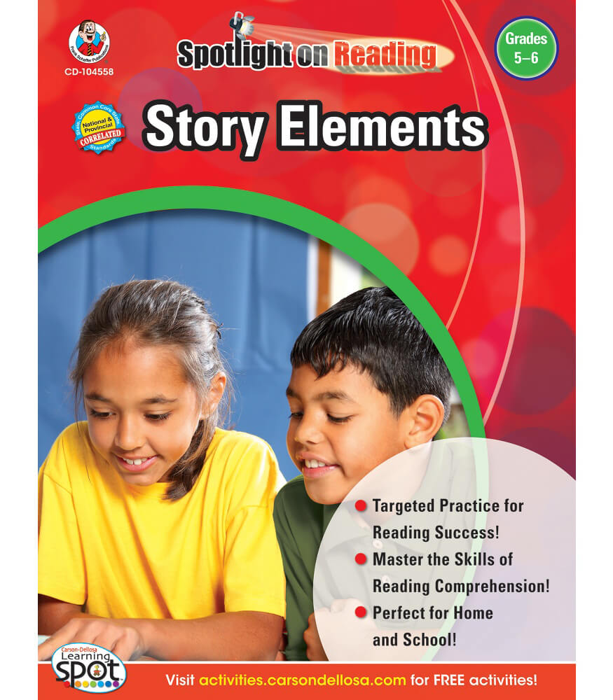 Story Elements Resource Book Product Image