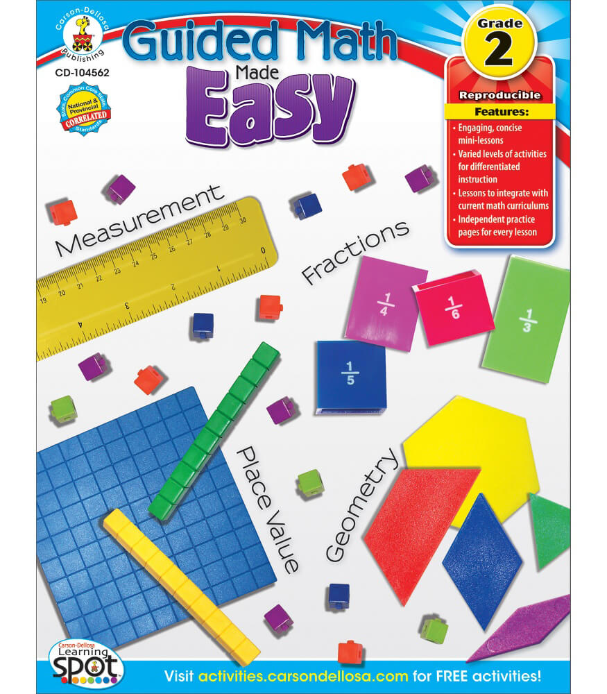 Guided Math Made Easy Resource Book Product Image
