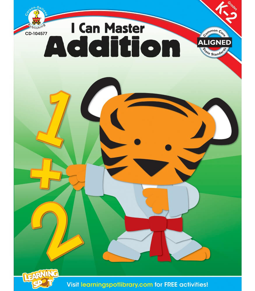 I Can Master Addition Workbook Product Image