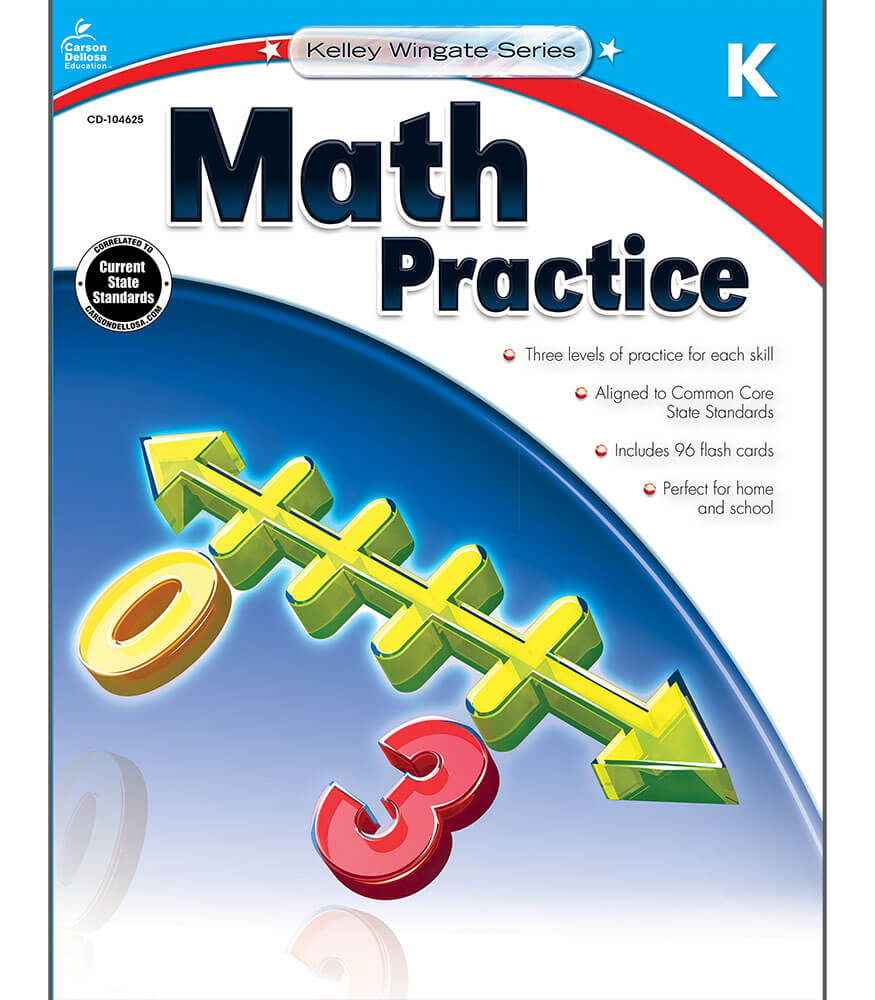 Math Practice Workbook Product Image