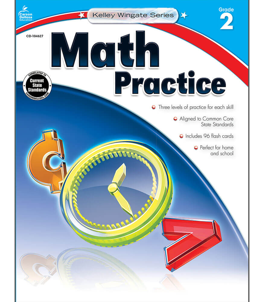 Workbooks practice workbook : Math Practice Workbook Grade 2 | Carson-Dellosa Publishing