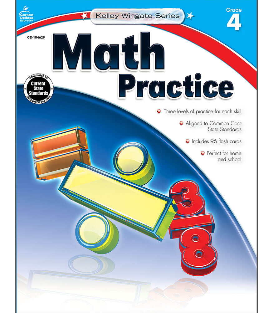 Kelley Wingate Math Practice  Workbook Product Image