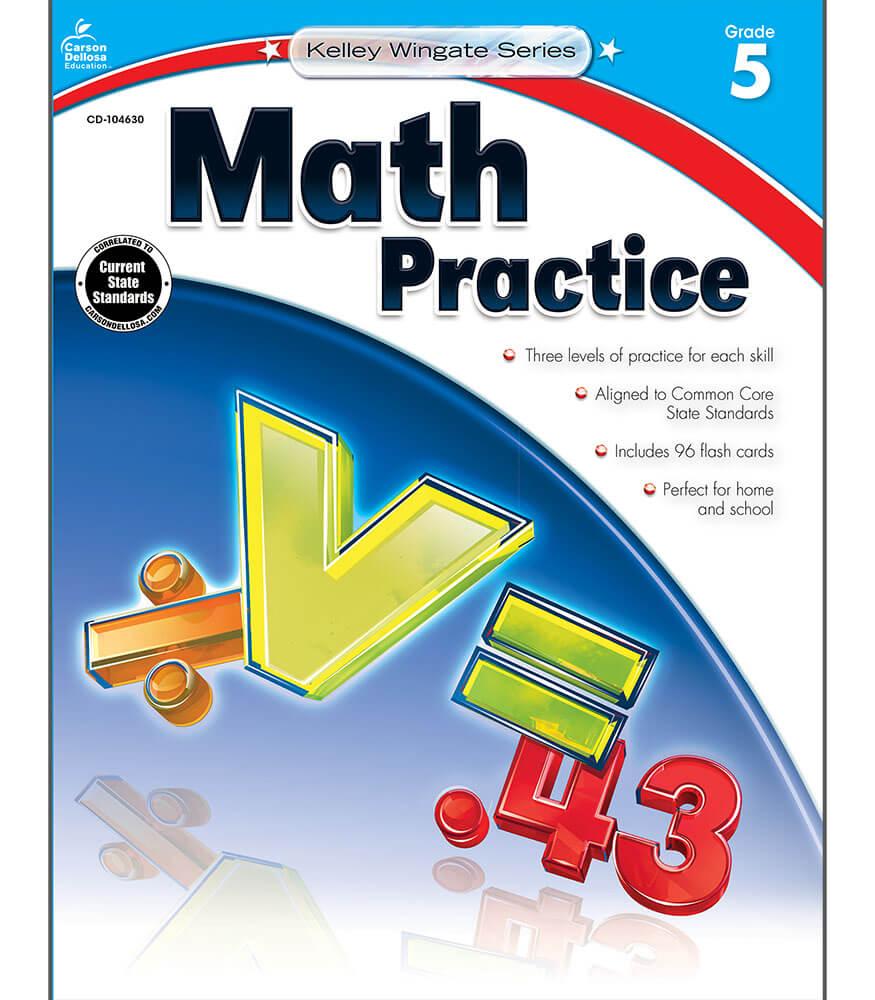Math Practice Workbook Product Image