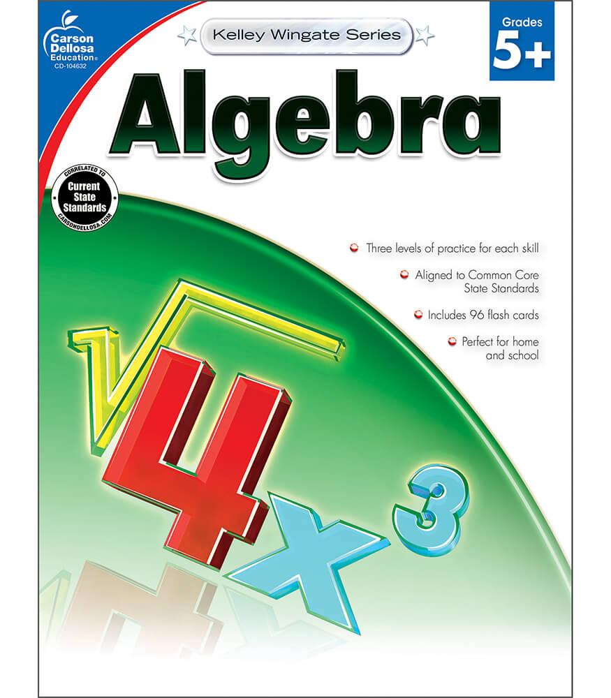 Algebra Workbook Product Image