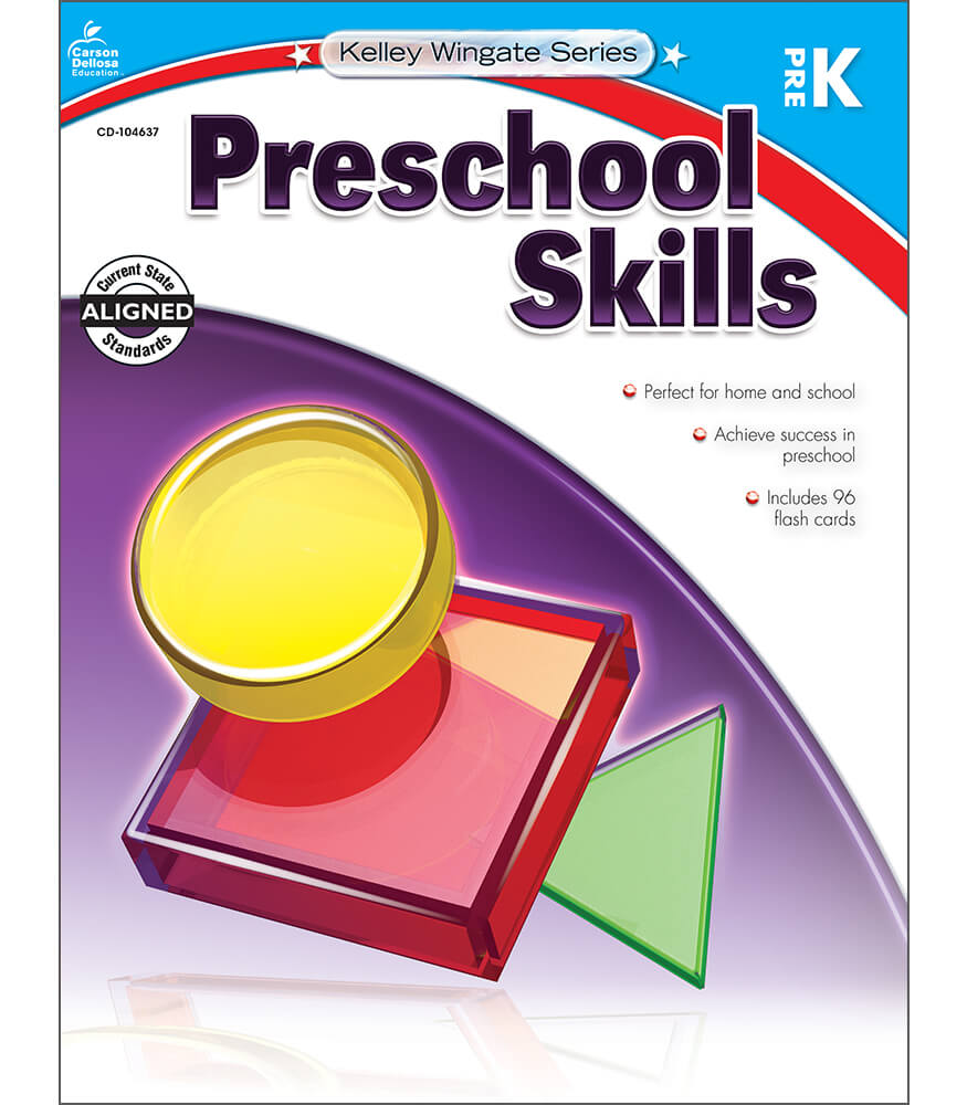 Kelley Wingate Preschool Skills Workbook Product Image