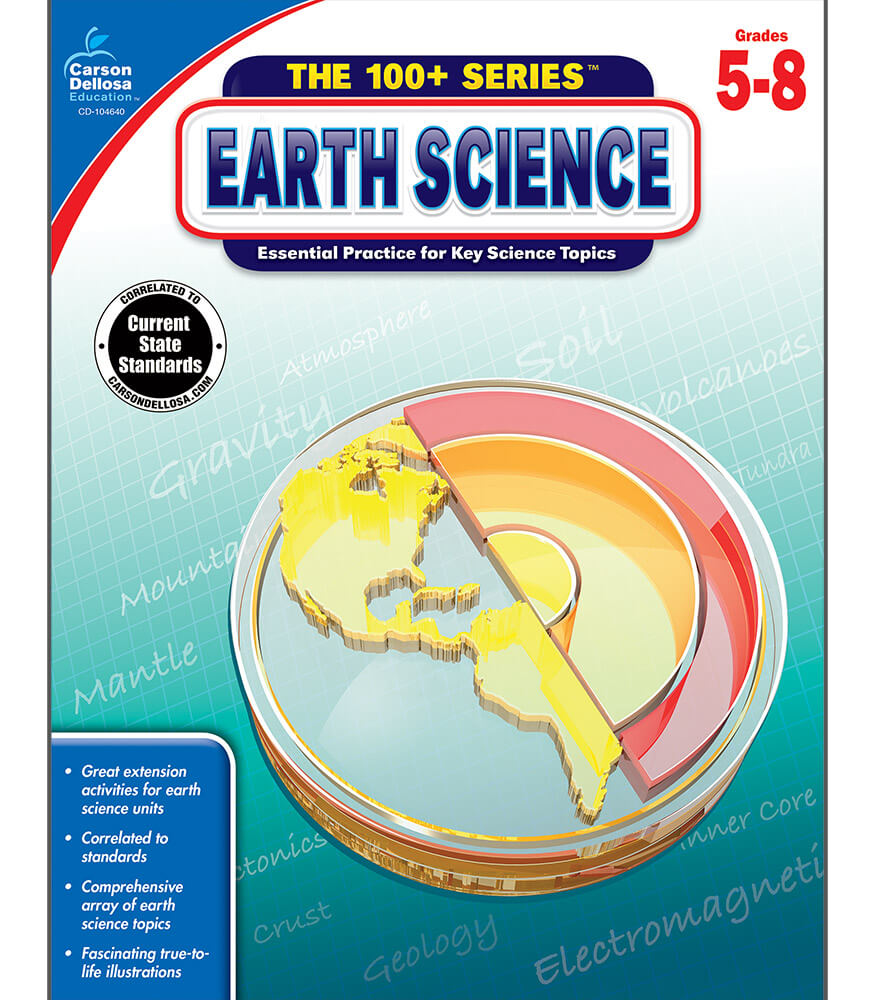 Earth Science Workbook Product Image