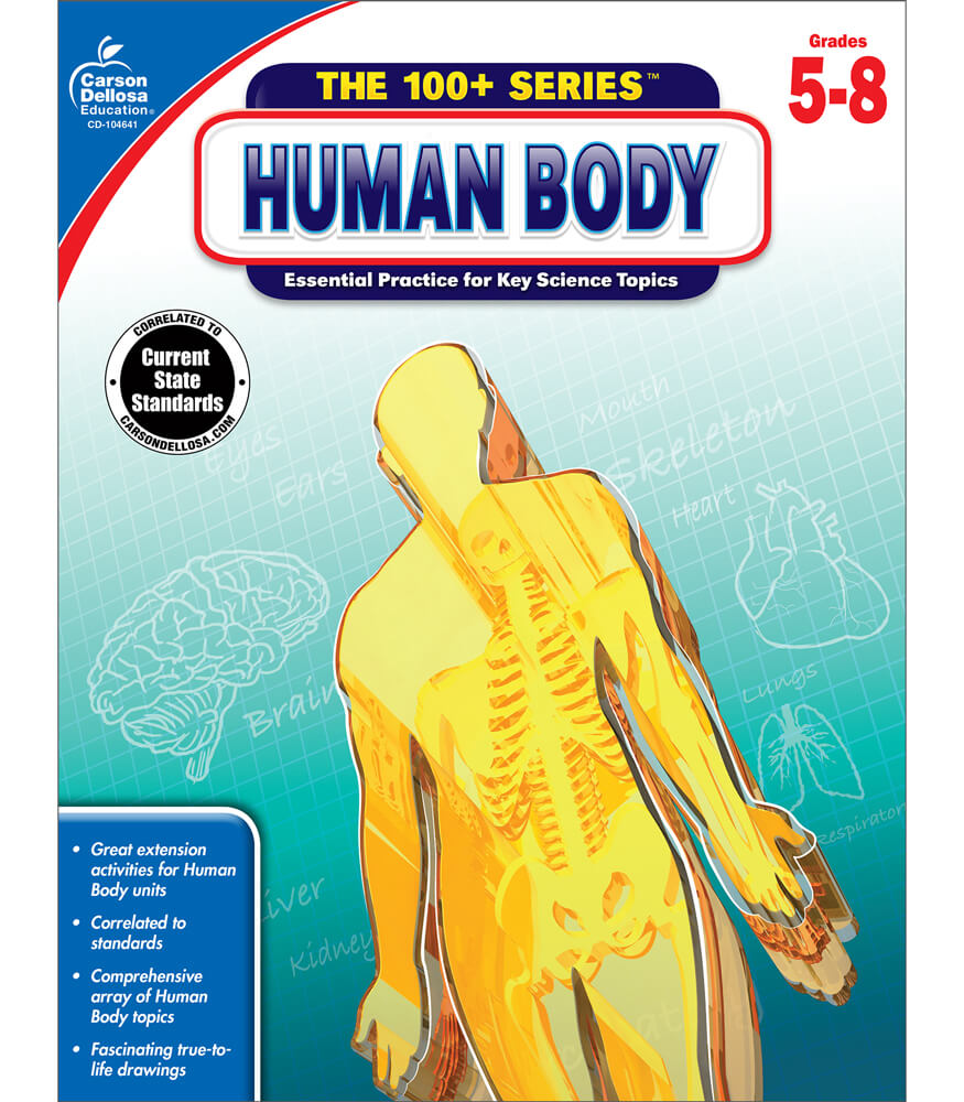 Human Body Workbook Product Image