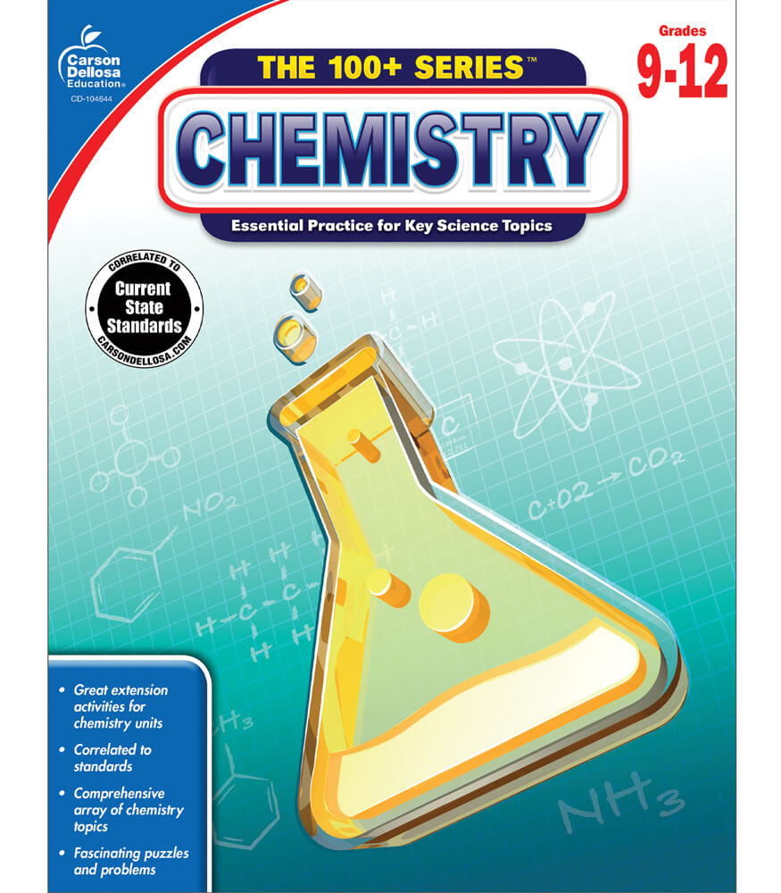 chemistry workbook grade carson dellosa publishing chemistry workbook