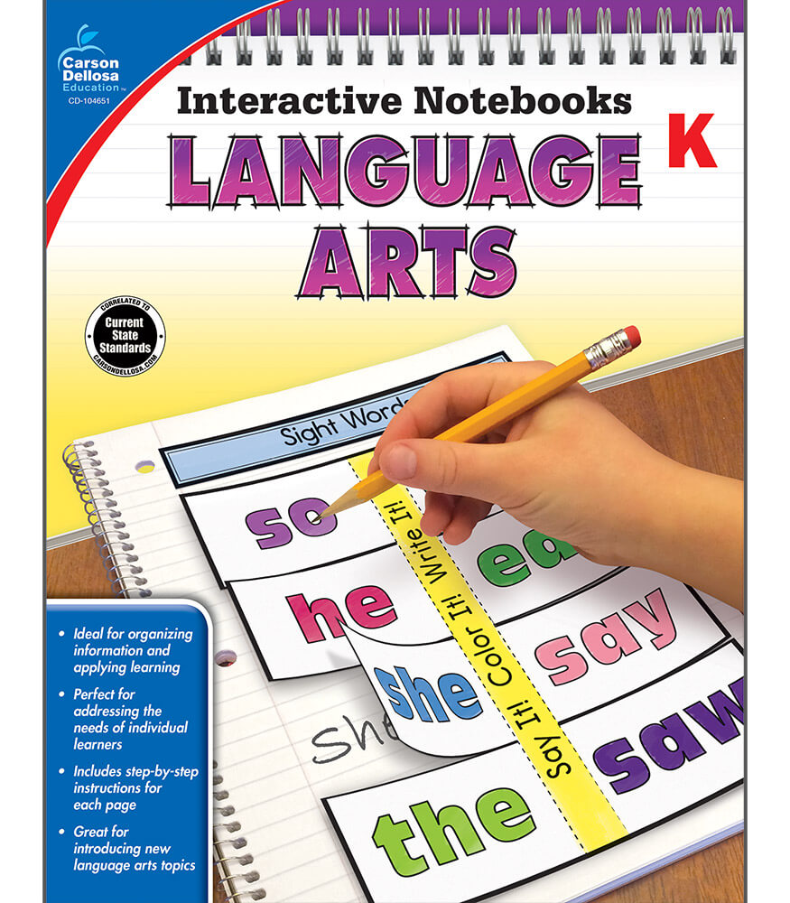 Interactive Notebooks: Language Arts Resource Book Product Image