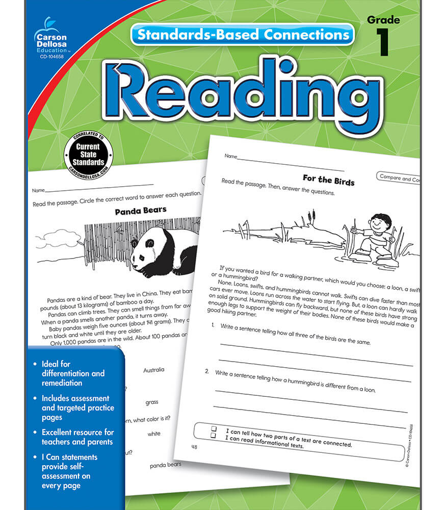 Standards-Based Connections: Reading Workbook Product Image