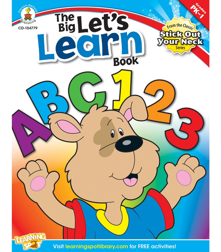 The Big Let's Learn Book Workbook Product Image