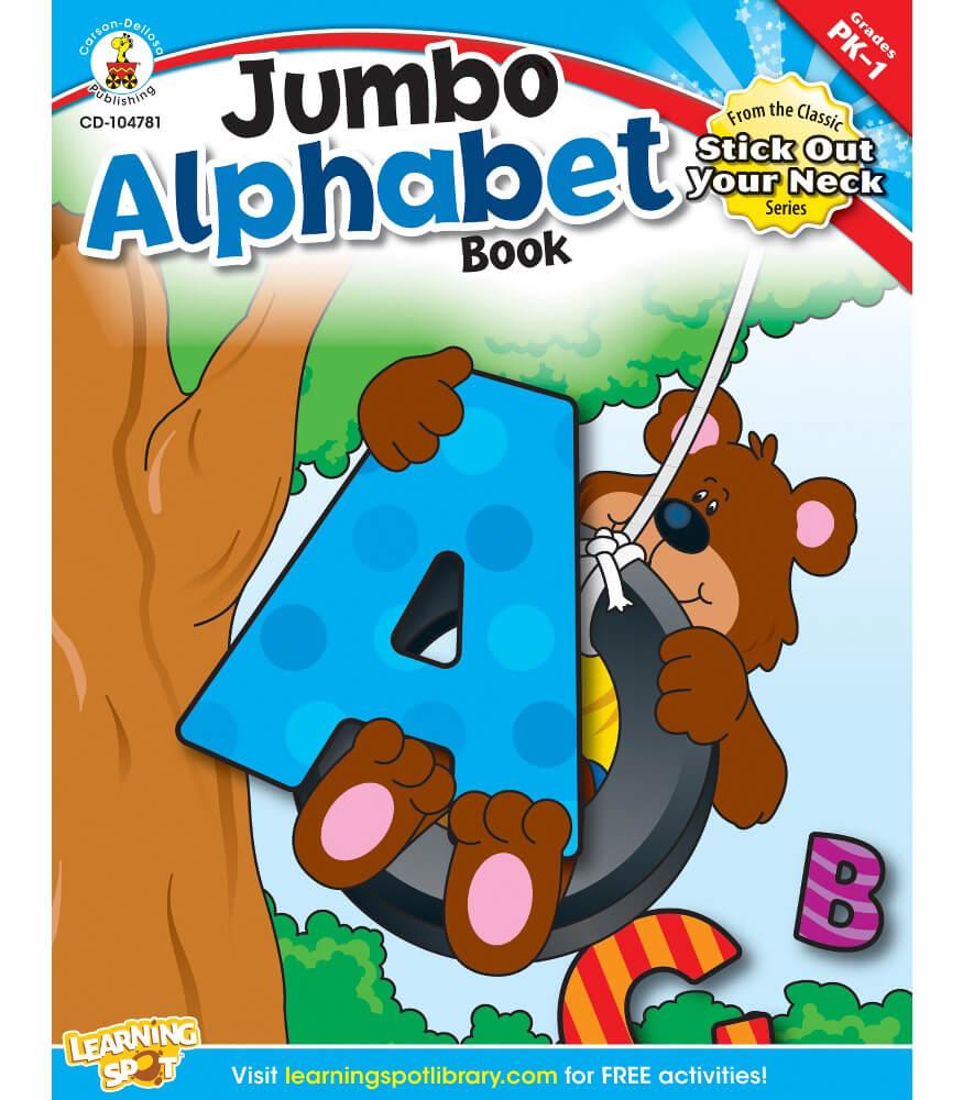 Jumbo Alphabet Book Resource Book Product Image