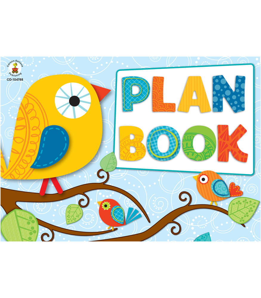 Boho Birds Plan Book Product Image