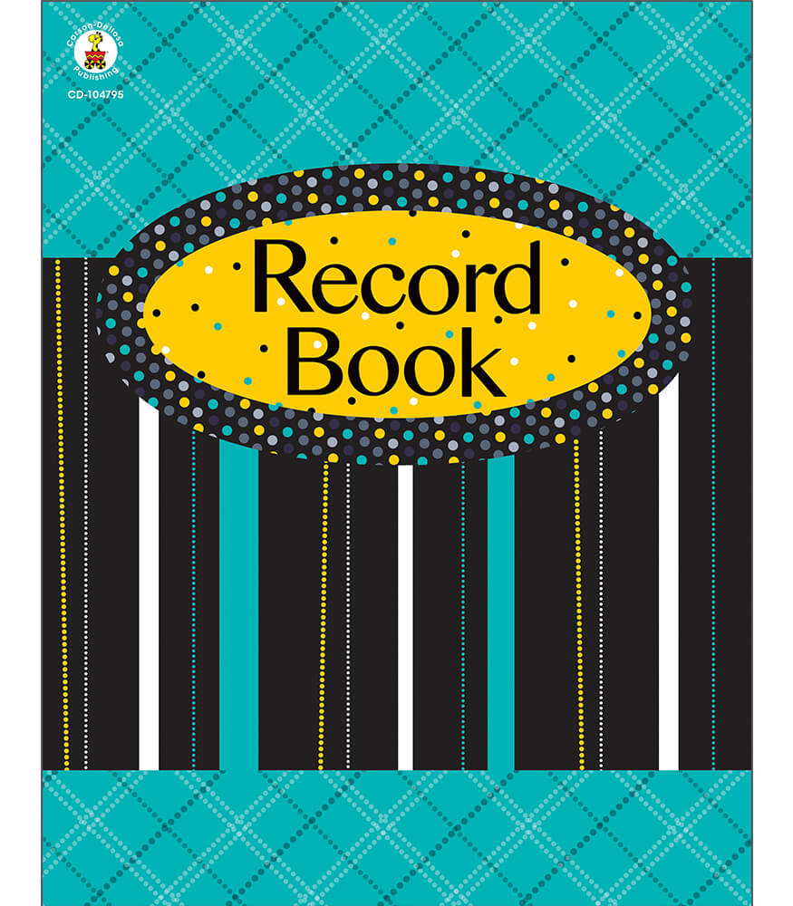 Black, White & Bold Record Book