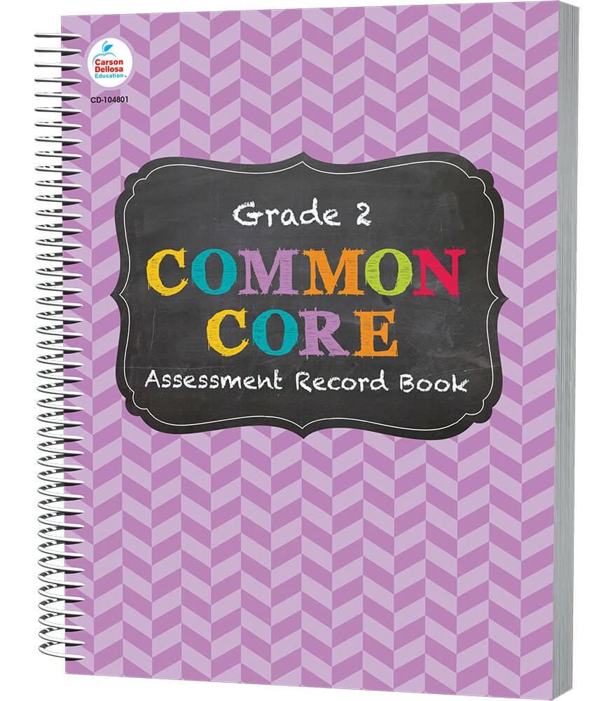 Common Core Assessment Record Book Product Image