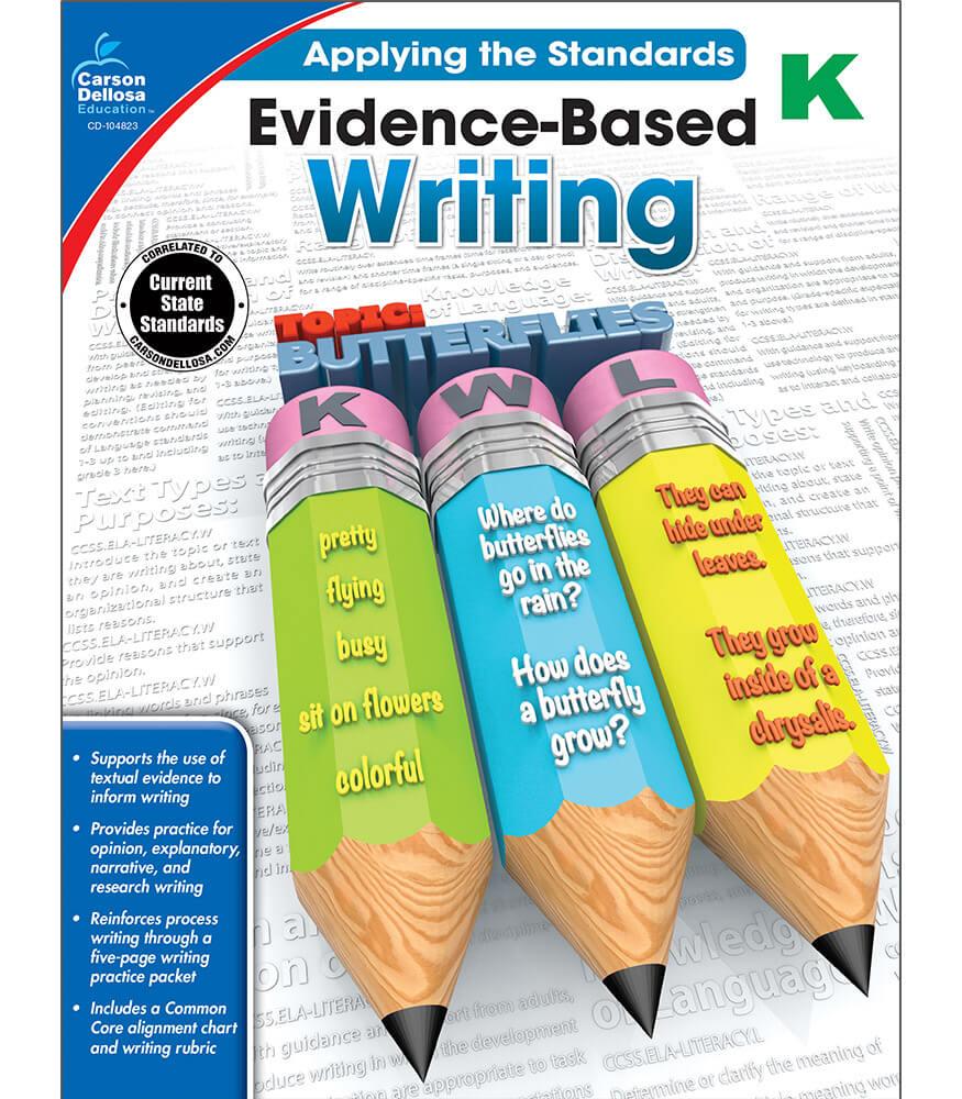 Evidence-Based Writing Workbook Product Image