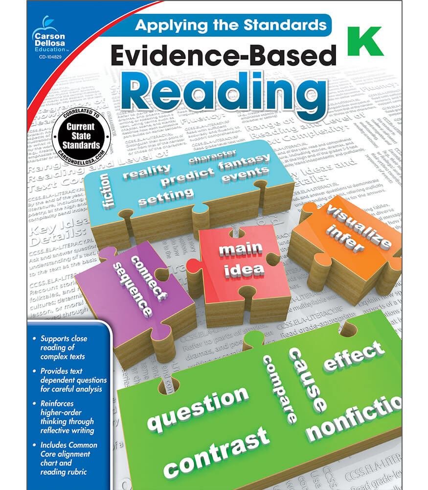Evidence-Based Reading Workbook Product Image