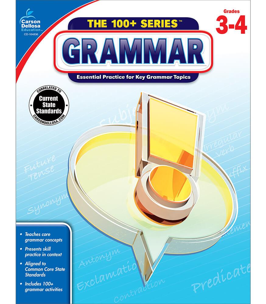 The 100+ Series™ Grammar Workbook Product Image
