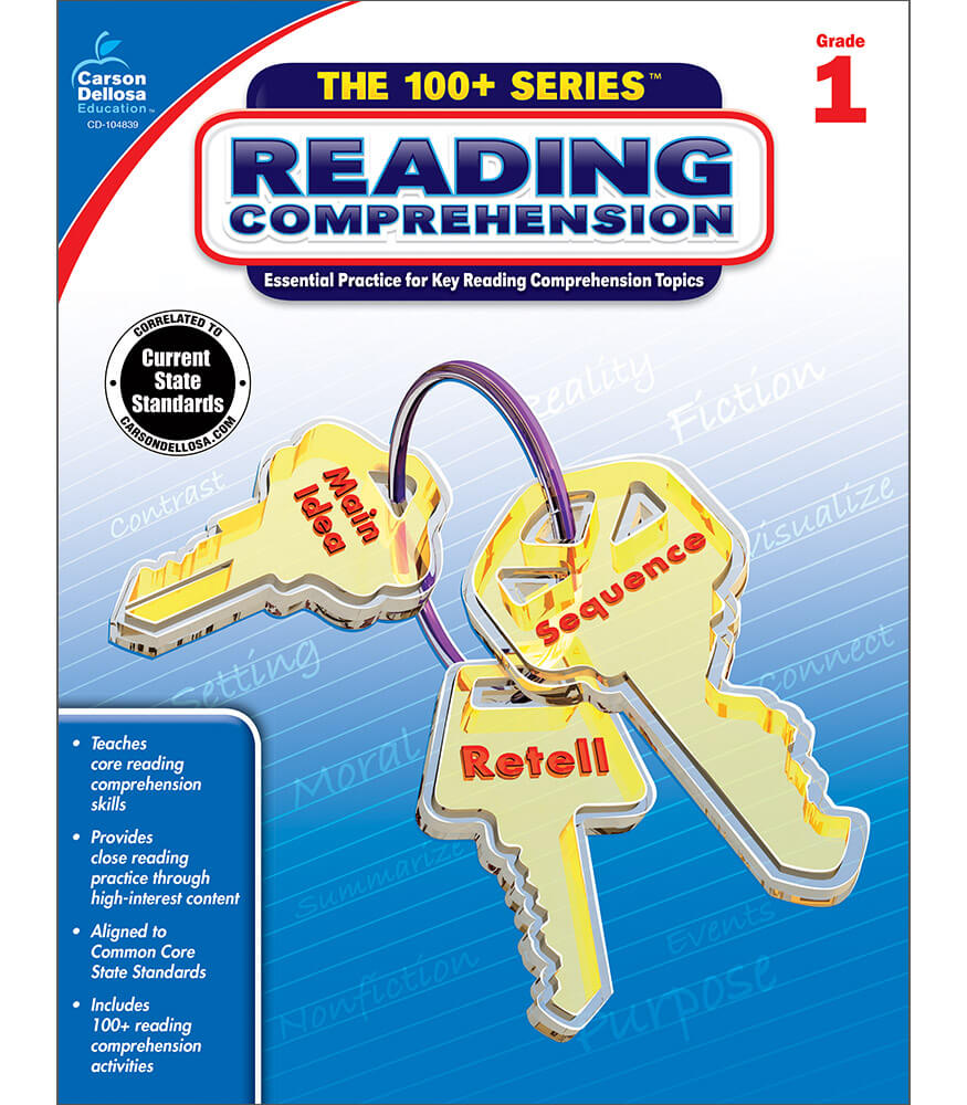 The 100+ Series™ Reading Comprehension Workbook Product Image