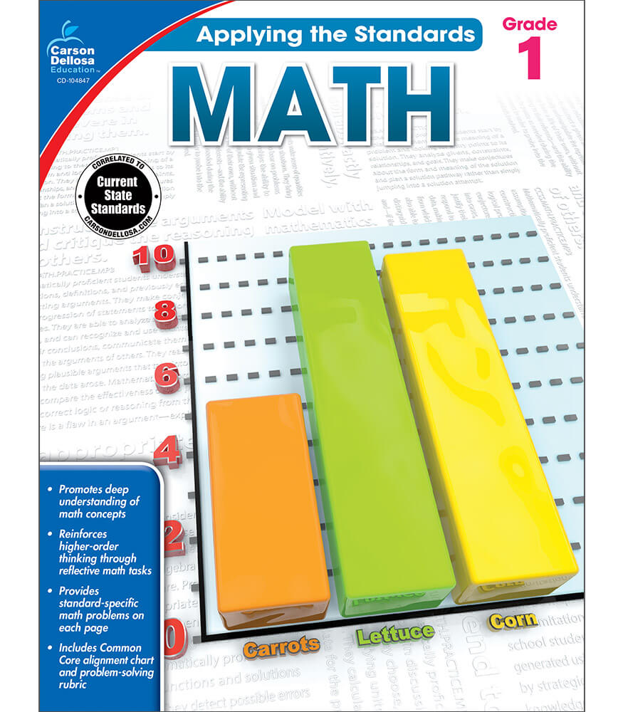 Math Workbook Product Image