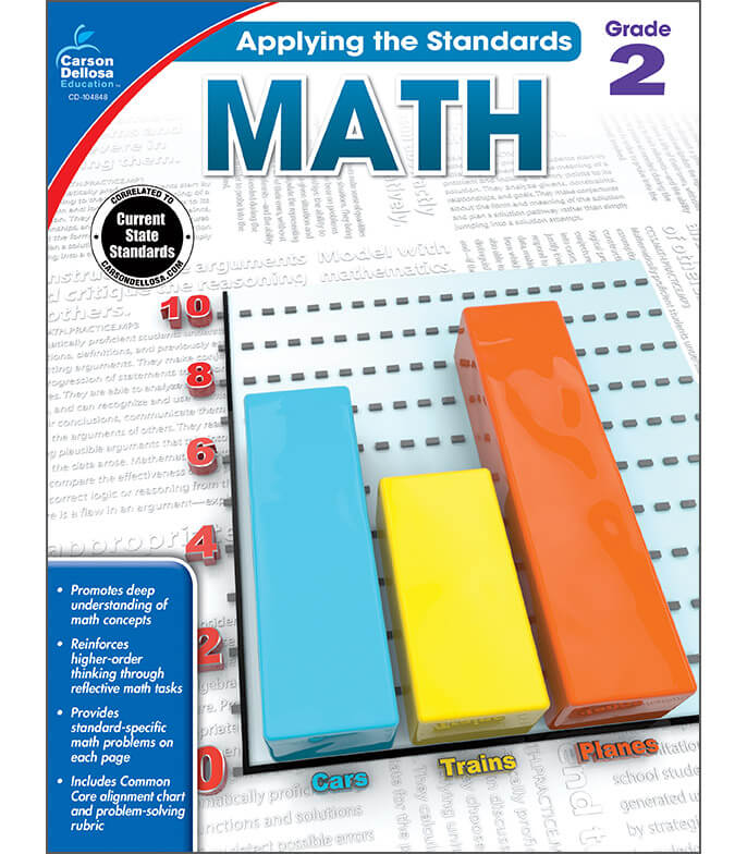 Math Workbook Grade 2