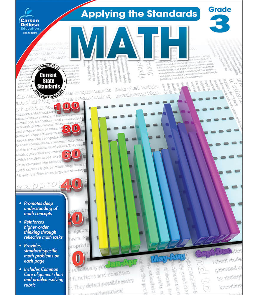 Applying the Standards Math  Workbook Product Image