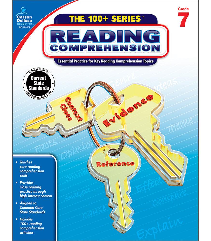 Reading Comprehension Workbook Grade 7 | Carson-Dellosa Publishing