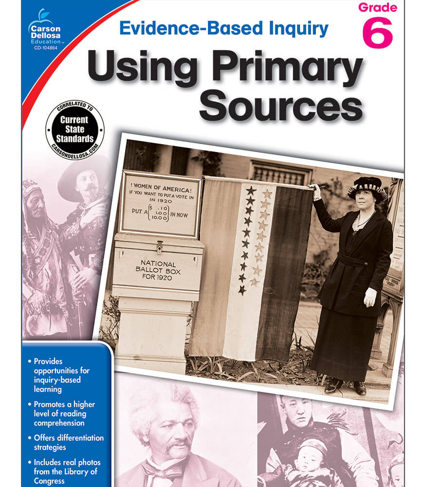 Using Primary Sources Workbook Product Image