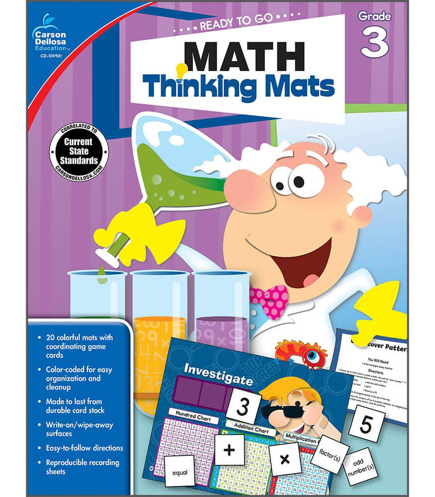 Math Thinking Mats Resource Book Product Image