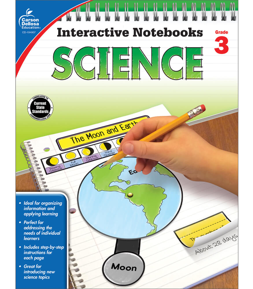 Interactive Notebooks Science Resource Book Grade 3