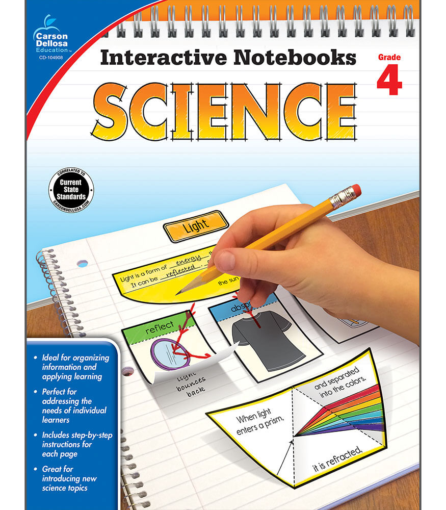 Interactive Notebooks: Science Resource Book Product Image