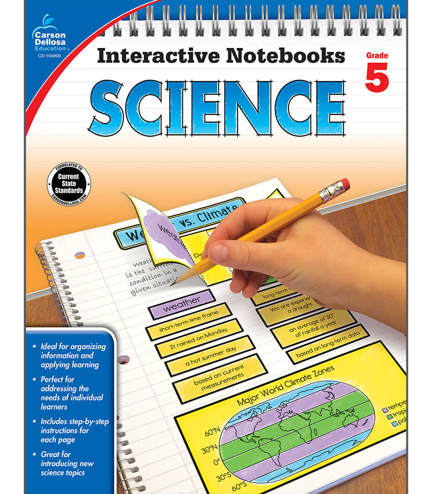 Interactive Notebooks Science Resource Book Grade 5