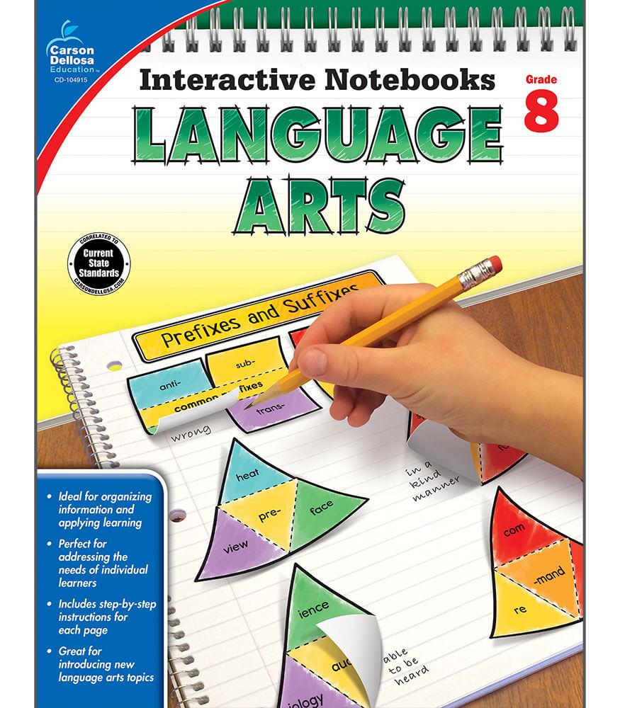 Interactive Notebooks: Language Arts Resource Book Product Image