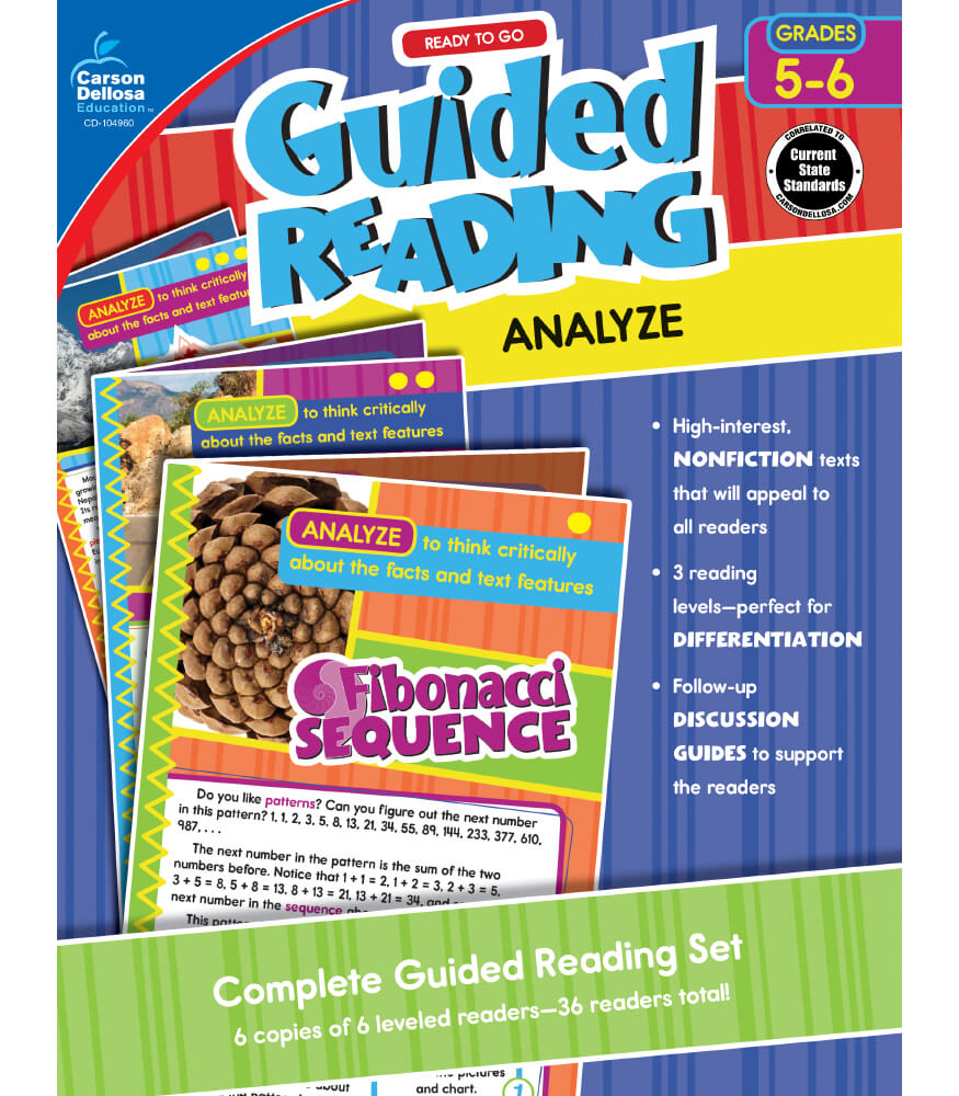 Guided Reading: Analyze Resource Book