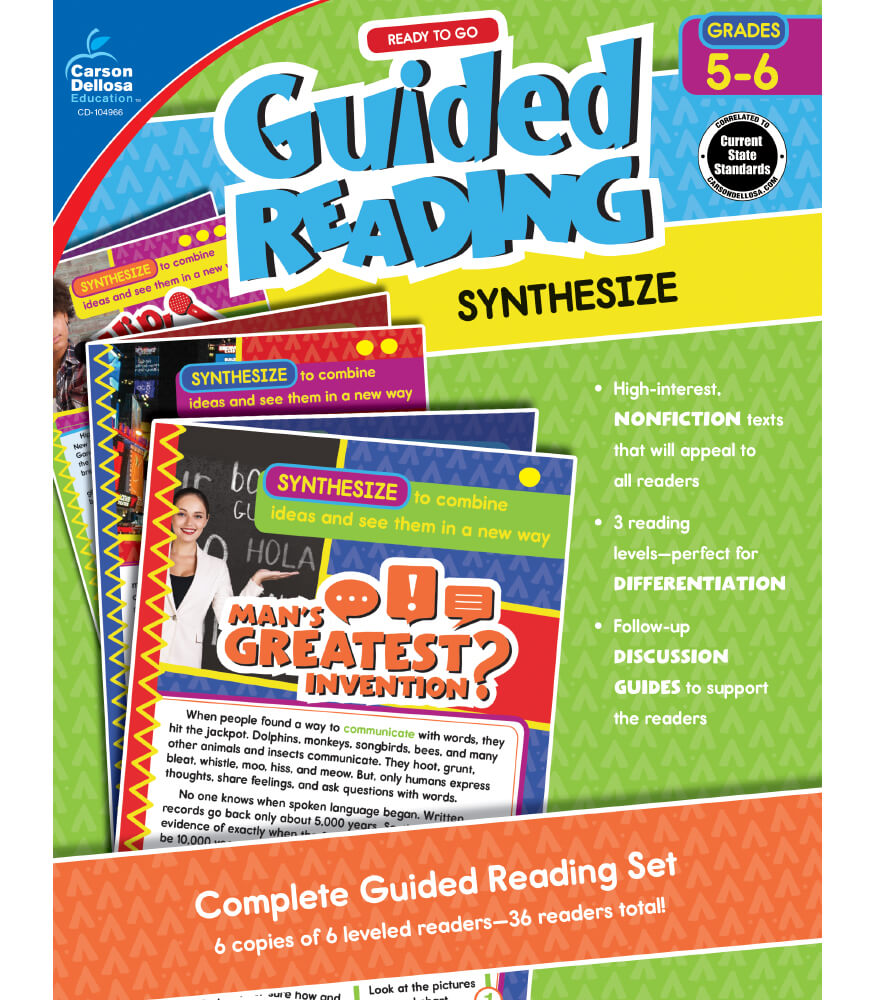 Guided Reading: Synthesize Resource Book