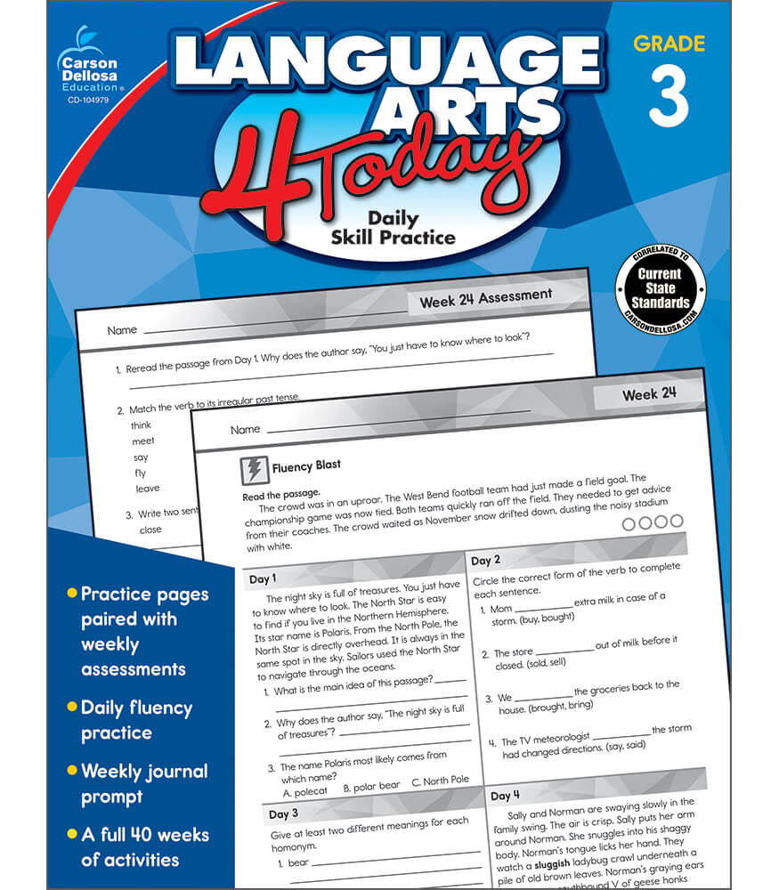 Language Arts 4 Today Workbook