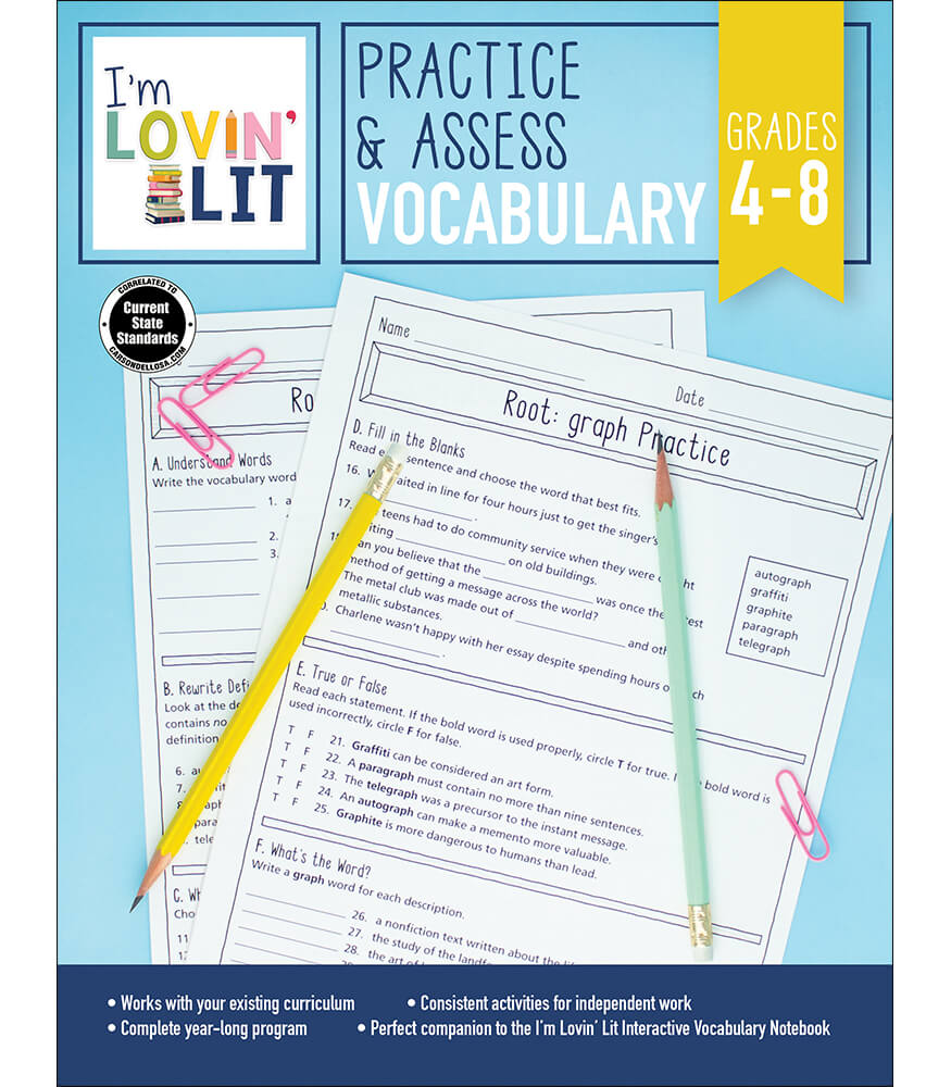 Practice & Assess: Vocabulary Workbook