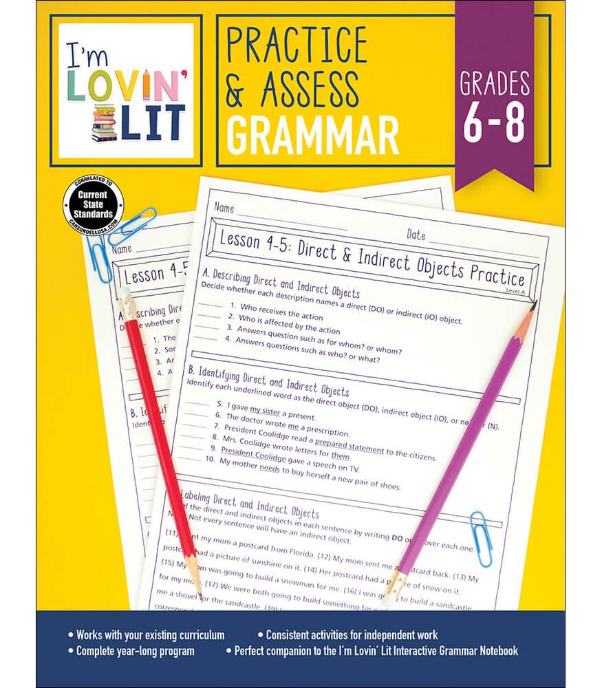Practice & Assess: Grammar Workbook Product Image